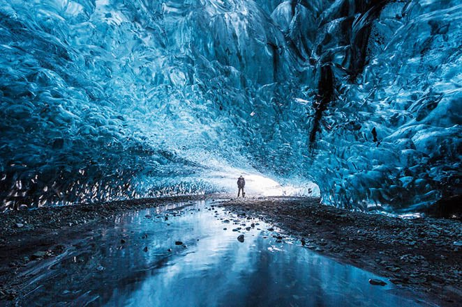 iceland ice caves