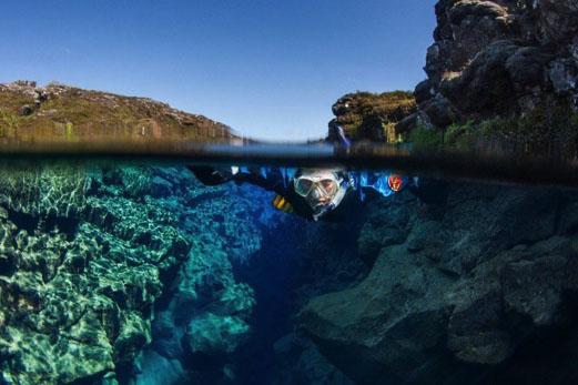 snorkelling silfra2