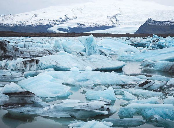 Jökulsárlón glacier lagoons