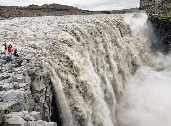 Dettifoss Water Falls, Iceland